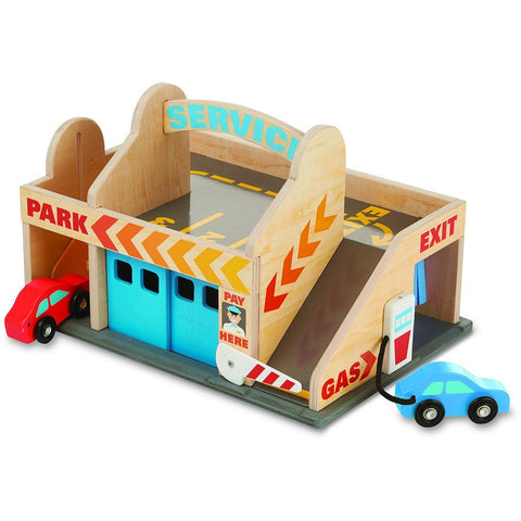 Melissa & Doug Service Station Parking Garage - Playscapes - Anglo Dutch Pools and Toys