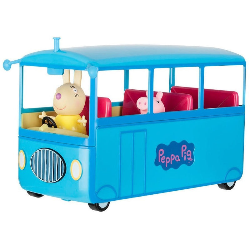 Peppa Pig School Bus Playset- - Anglo Dutch Pools & Toys  - 1