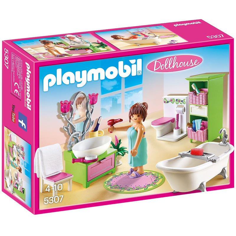 Playscapes - Playmobil 5307 Vintage Bathroom