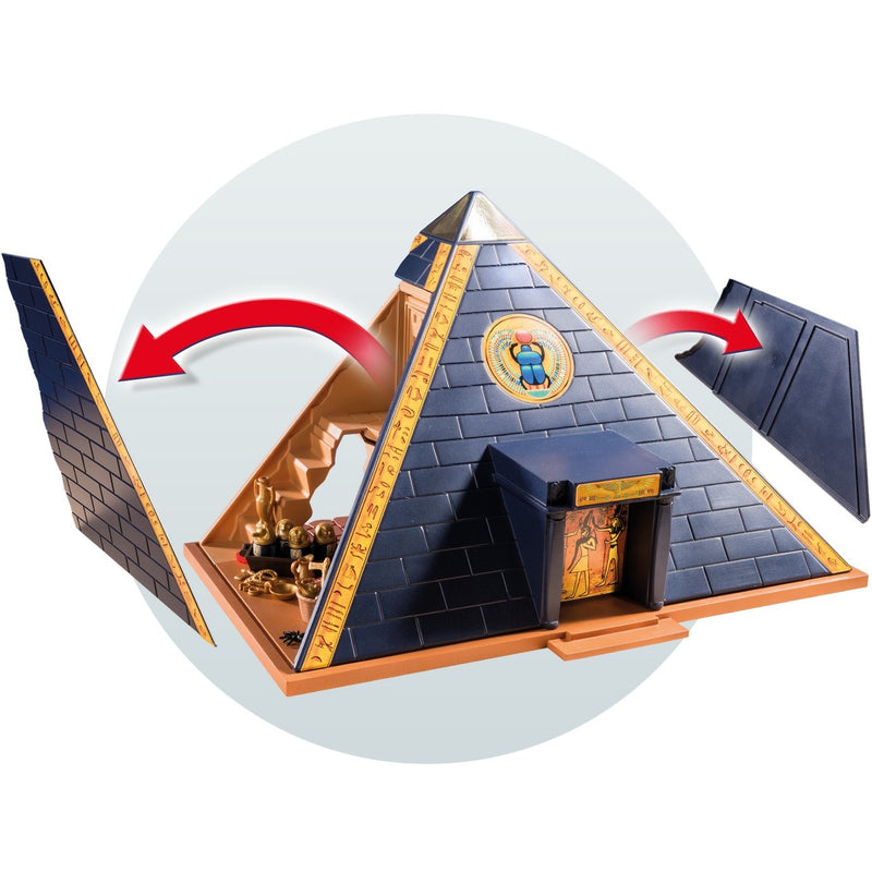 playmobil 5386 pharaoh 39 s pyramid playscapes. Black Bedroom Furniture Sets. Home Design Ideas