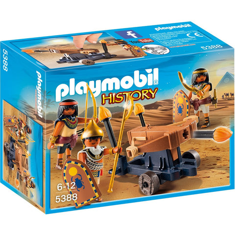 Playmobil 5388 Egyptian Troop with Ballista