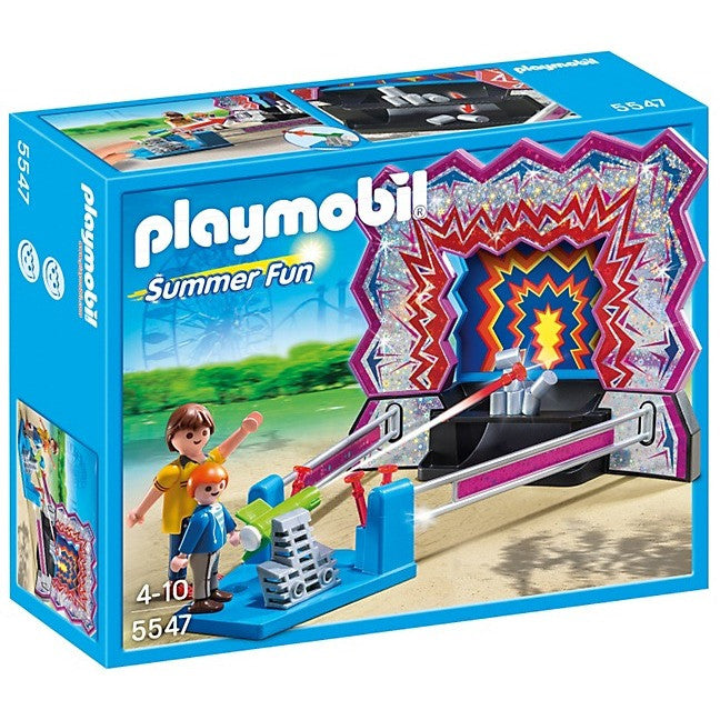 Playmobil 5547 Tin Can Shooting Game - Playscapes - Anglo Dutch Pools and Toys