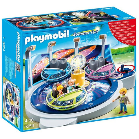 Playmobil 5554 Spinning Spaceship Ride with Lights - Playscapes - Anglo Dutch Pools and Toys