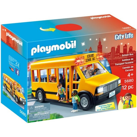 Playscapes - Playmobil 5680 School Bus