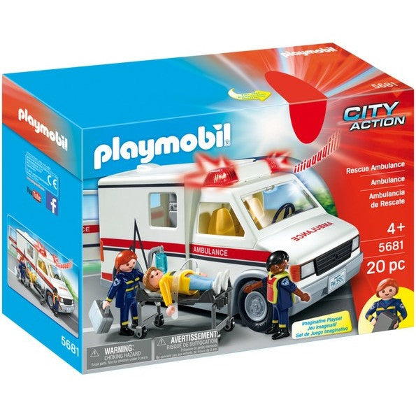 Playscapes - Playmobil 5681 Rescue Ambulance