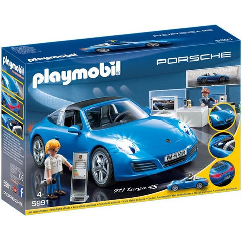 Playscapes - Playmobil 5991 Porsche 911 Targa 4S