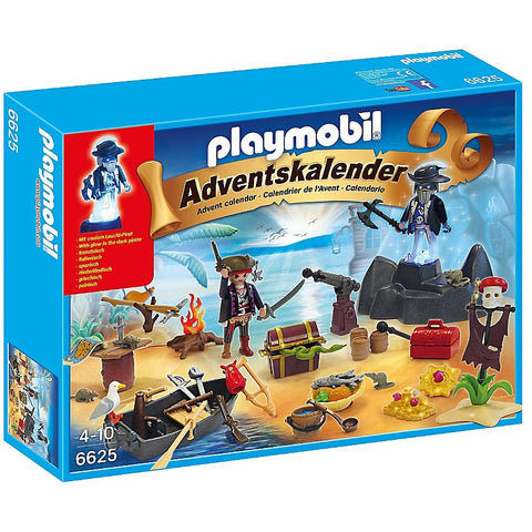 Playmobil 6625 Advent Calendar Pirate Treasure Island- - Anglo Dutch Pools & Toys  - 1