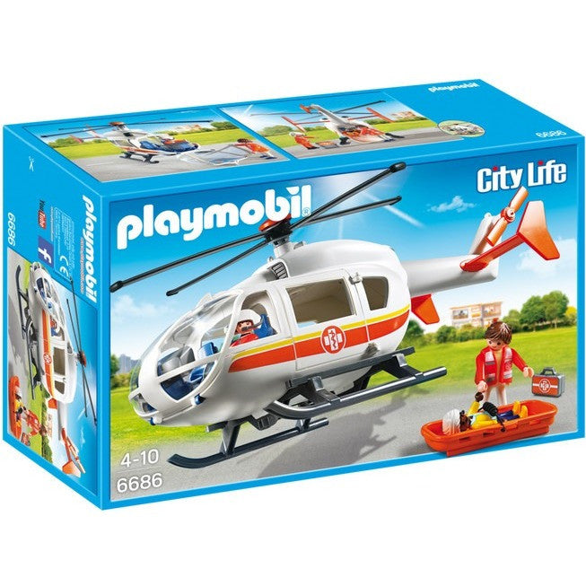 Playscapes - Playmobil 6686 Emergency Medical Helicopter