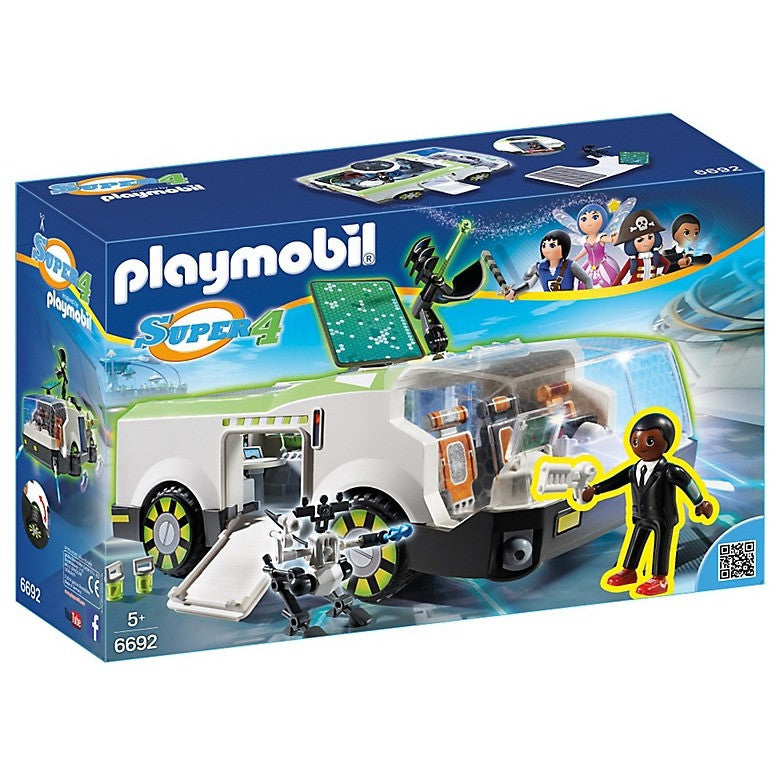 playmobil 6692 techno chameleon with gene playscapes