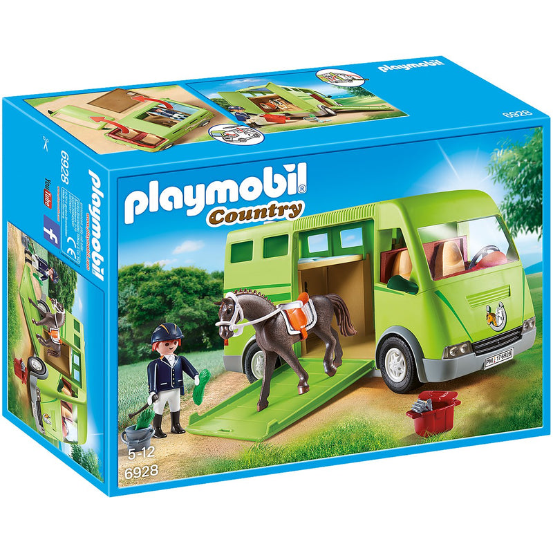 Playscapes - Playmobil 6928 Horse Transporter