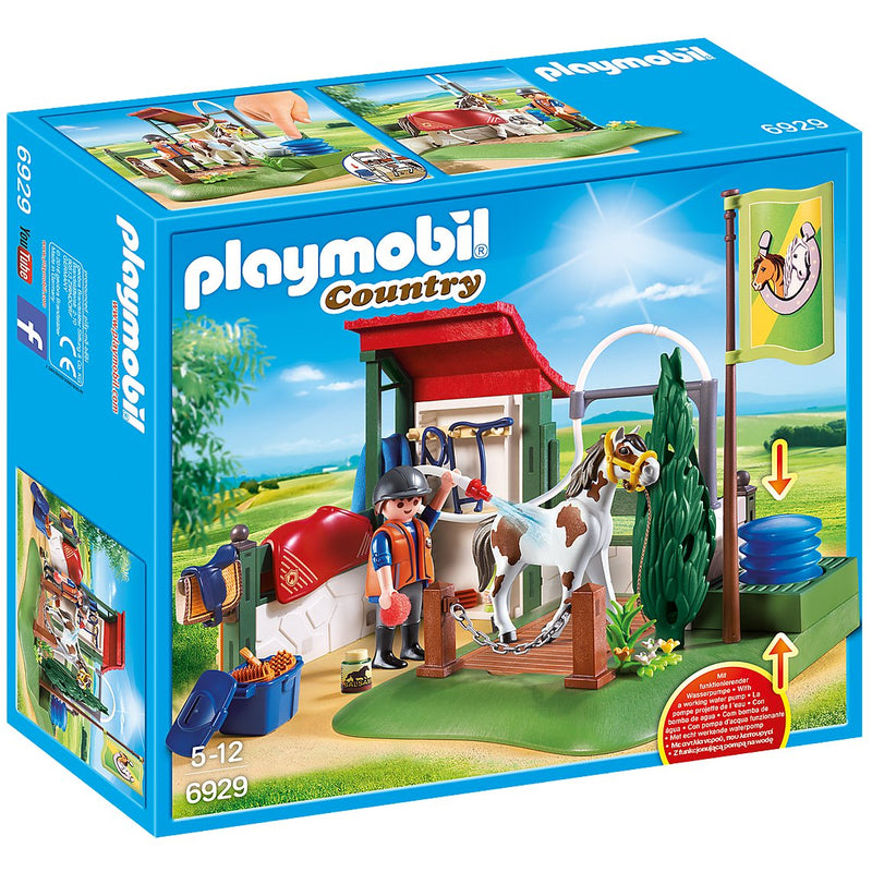 Playscapes - Playmobil 6929 Horse Grooming Station