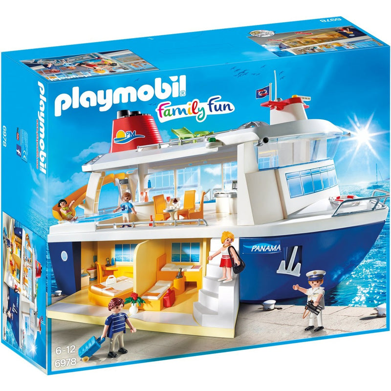 Playmobil 6978 cruise ship playscapes for Salle a manger playmobil city life