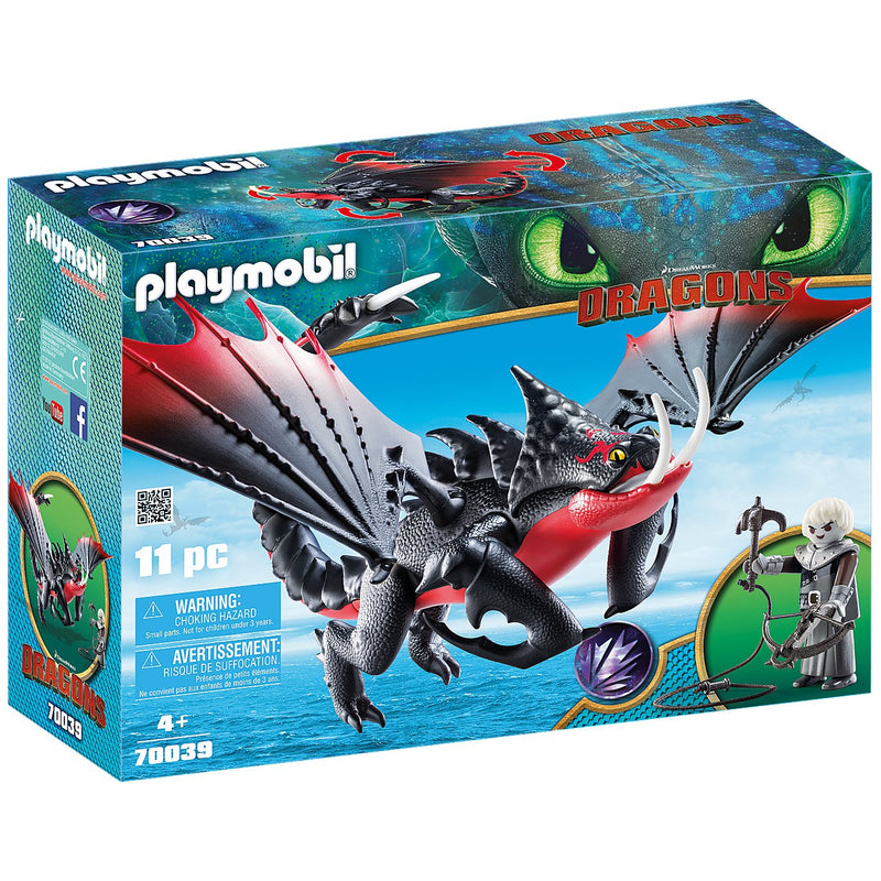 Playscapes - Playmobil 70039 Deathgripper With Grimmel