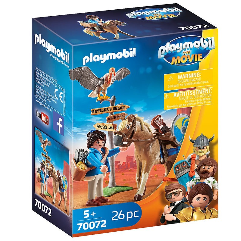 Playscapes - Playmobil 70072 THE MOVIE Marla With Horse