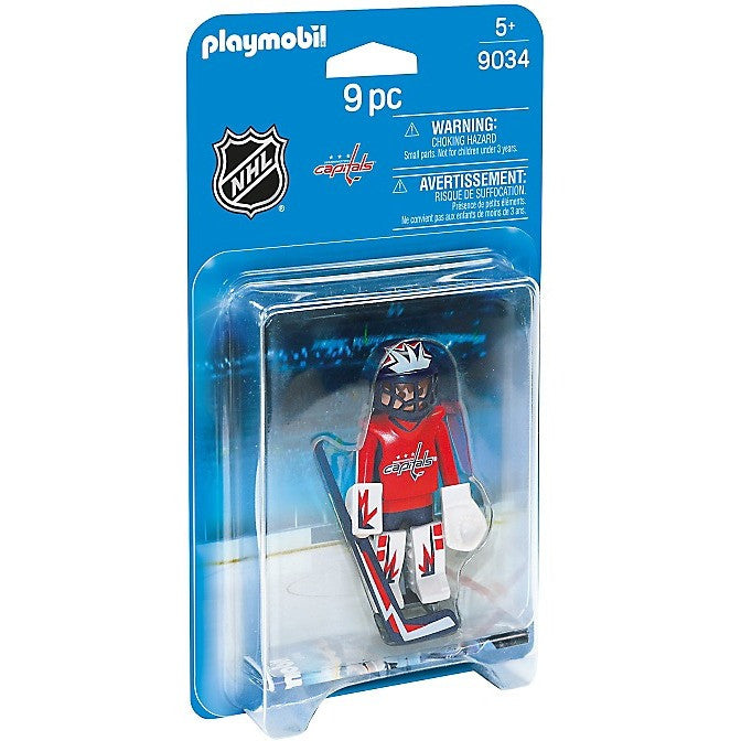 Playmobil 9034 NHL® Washington Capitals® Goalie - Playscapes - Anglo Dutch Pools and Toys