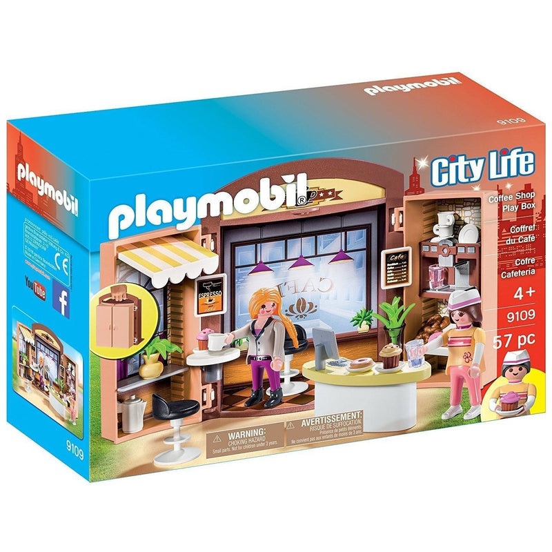 Playmobil 9109 Coffee Shop Play Box
