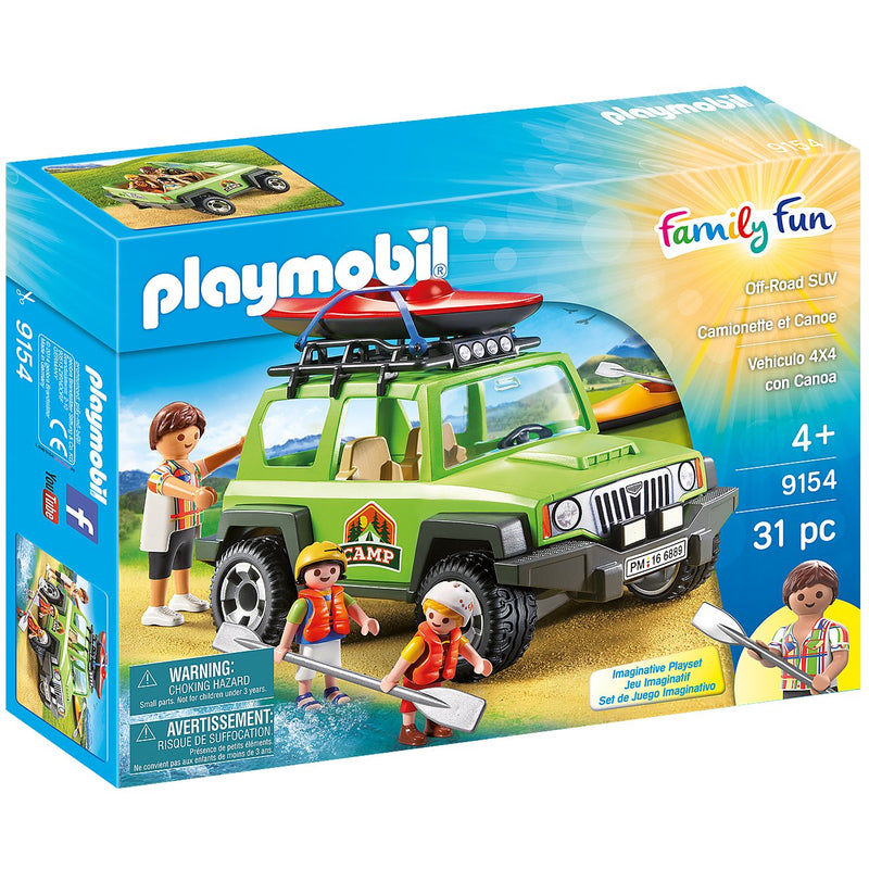 Playscapes - Playmobil 9154 Off-Road SUV