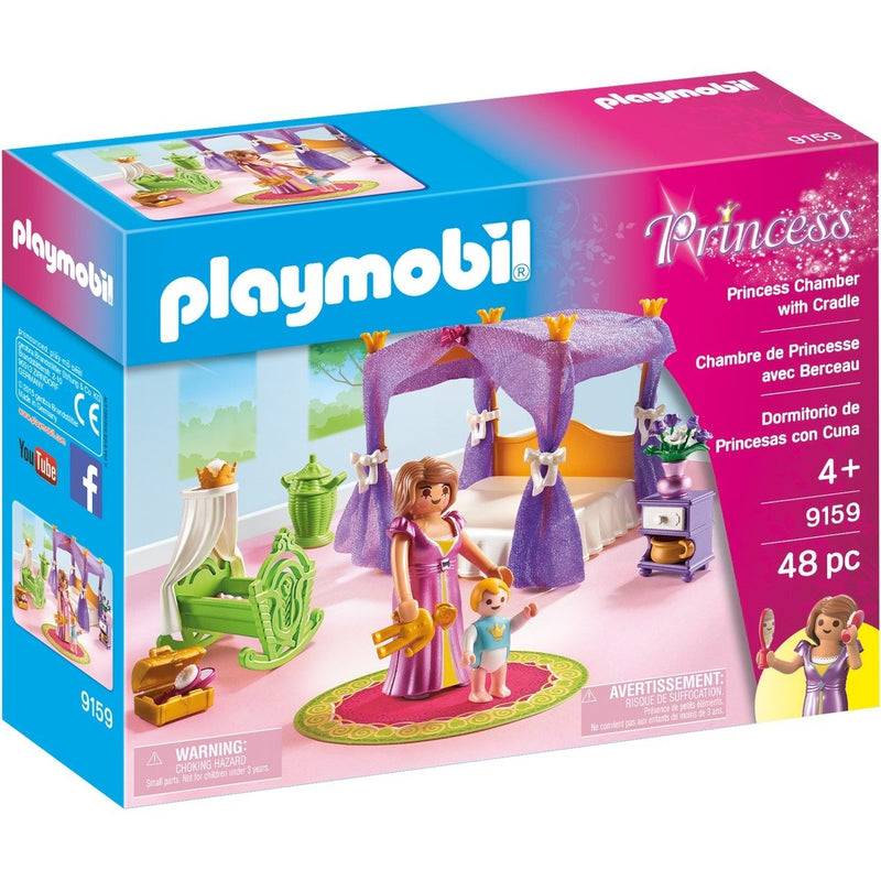 Playmobil 9159 Princess Chamber with Cradle