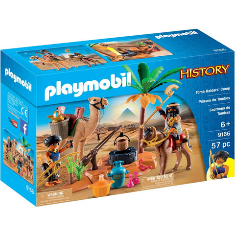 Playmobil 9166 Tomb Raiders' Camp