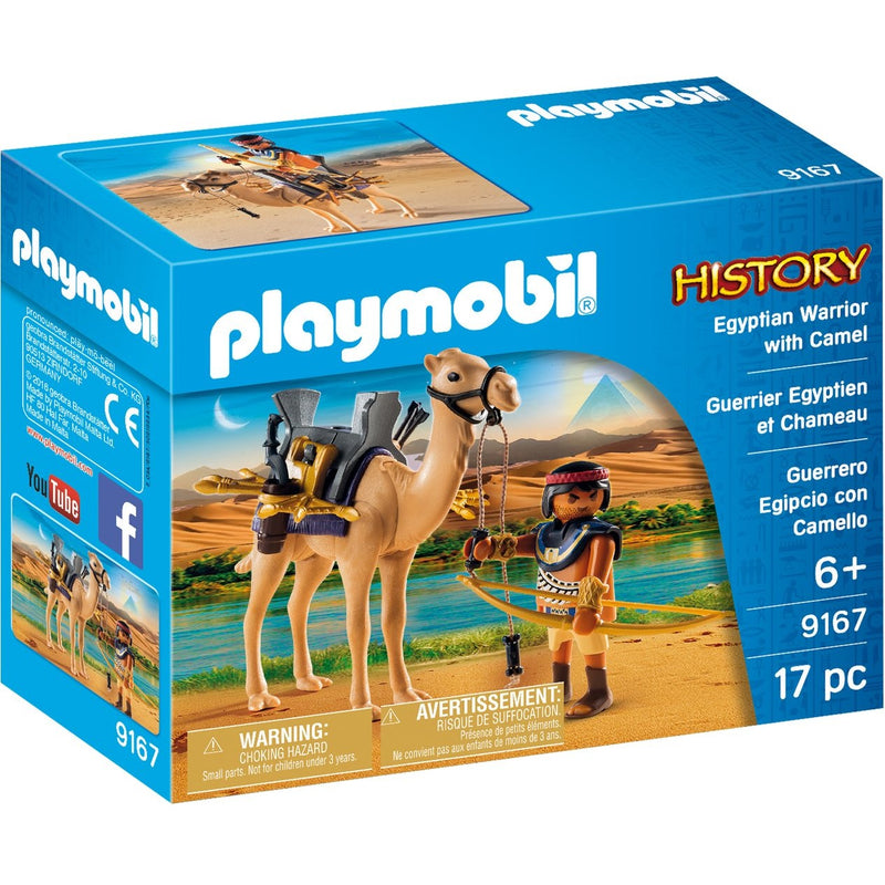 Playmobil 9167 Egyptian Warrior with Camel