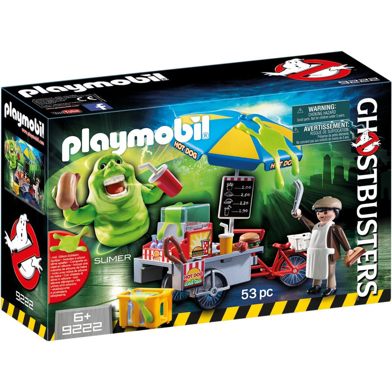 Playmobil 9222 Slimer with Hot Dog Stand