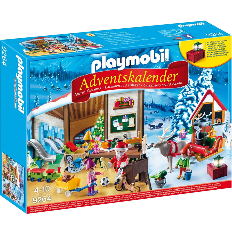Playmobil 9264 Advent Calendar Santa`s Workshop