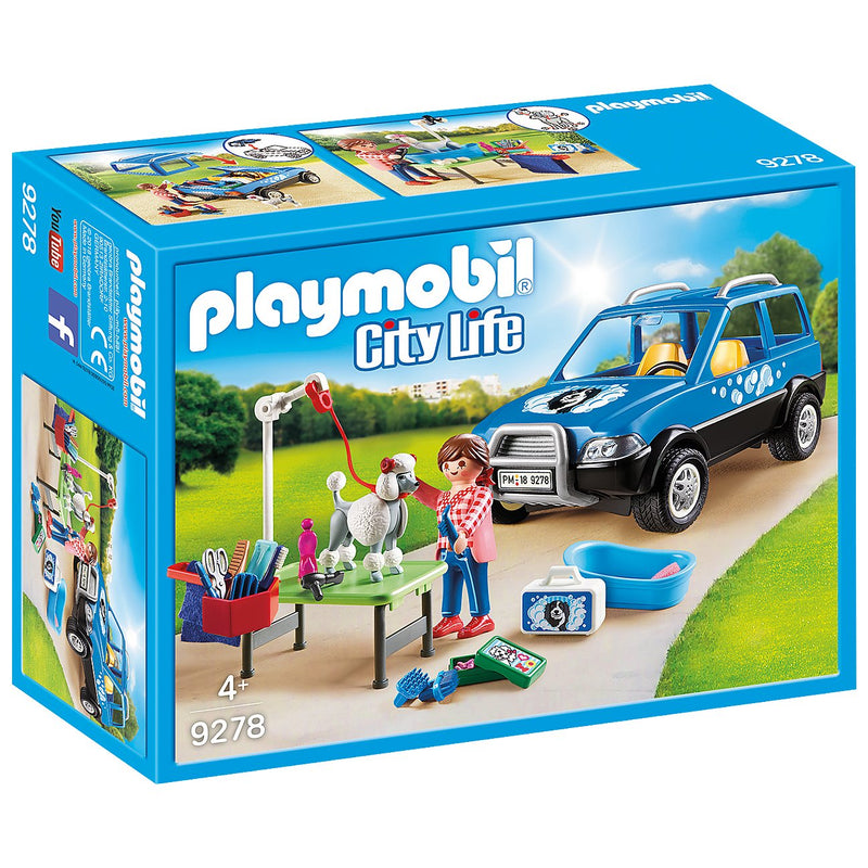 Playscapes - Playmobil 9278 Mobile Pet Groomer