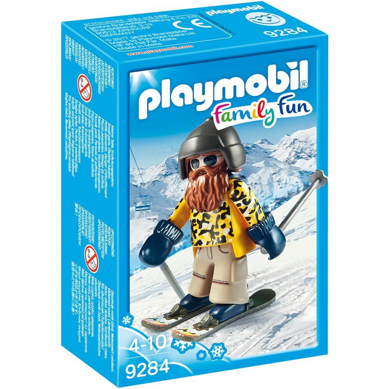 Playmobil 9284 Skier with Poles