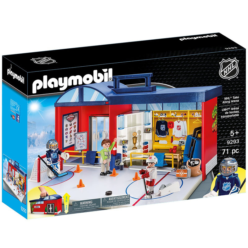 Playscapes - Playmobil 9293 NHL® Take Along Arena