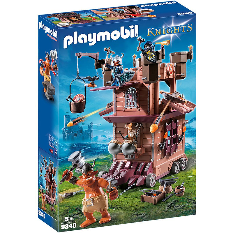 Playscapes - Playmobil 9340 Mobile Dwarf Fortress