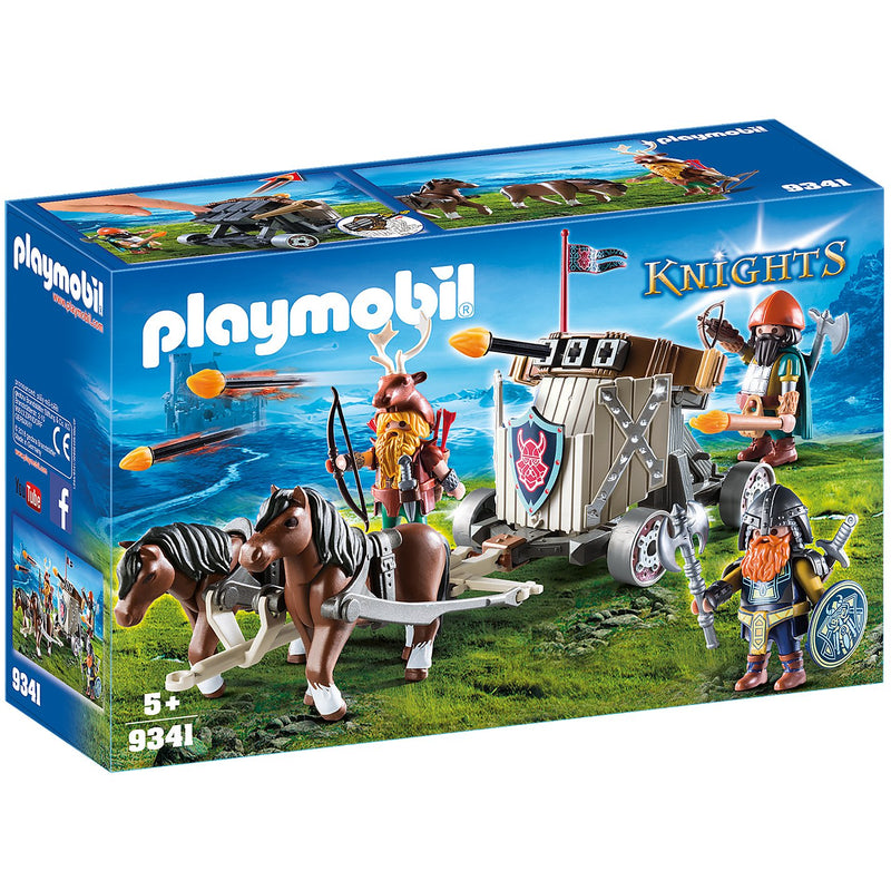 Playscapes - Playmobil 9341 Horse-Drawn Ballista
