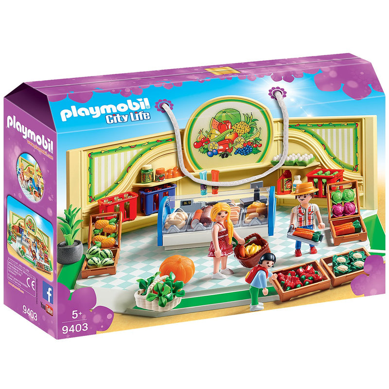 Playscapes - Playmobil 9403 Grocery Shop