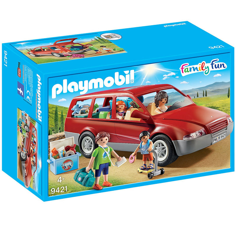 Playscapes - Playmobil 9421 Family Car