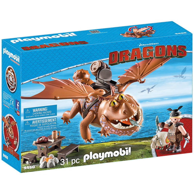 Playscapes - Playmobil 9460 Fishlegs And Meatlug