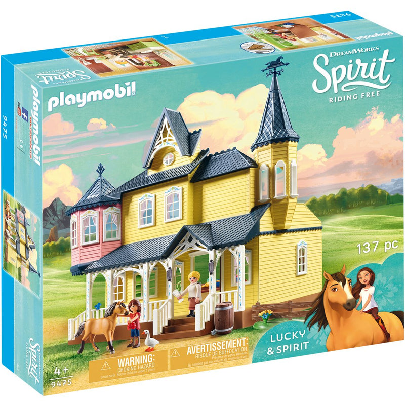 Playscapes - Playmobil 9475 Lucky's Happy Home