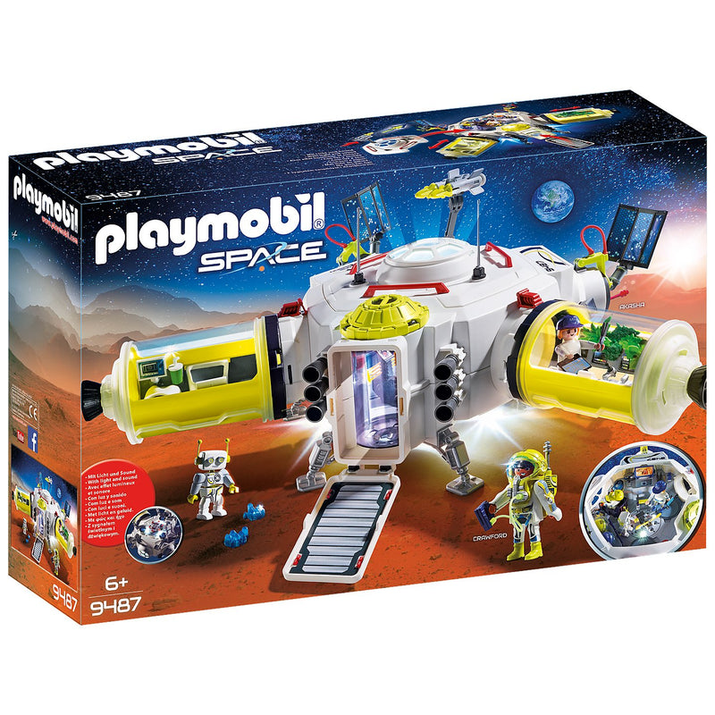 Playscapes - Playmobil 9487 Mars Space Station