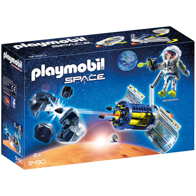 Playscapes - Playmobil 9490 Satellite Meteoroid Laser
