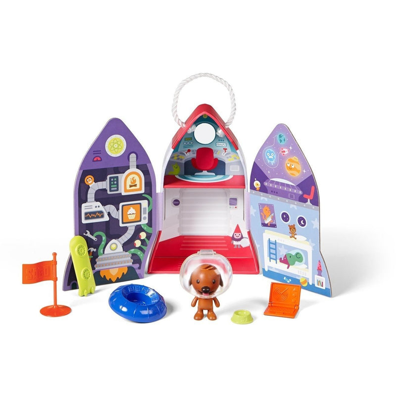 Playscapes - Sago Mini Portable Playset: Harvey's Spaceship