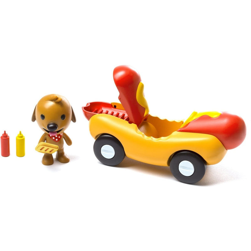 Playscapes - Sago Mini Vehicle Playset: Harvey's Veggie Dog Car