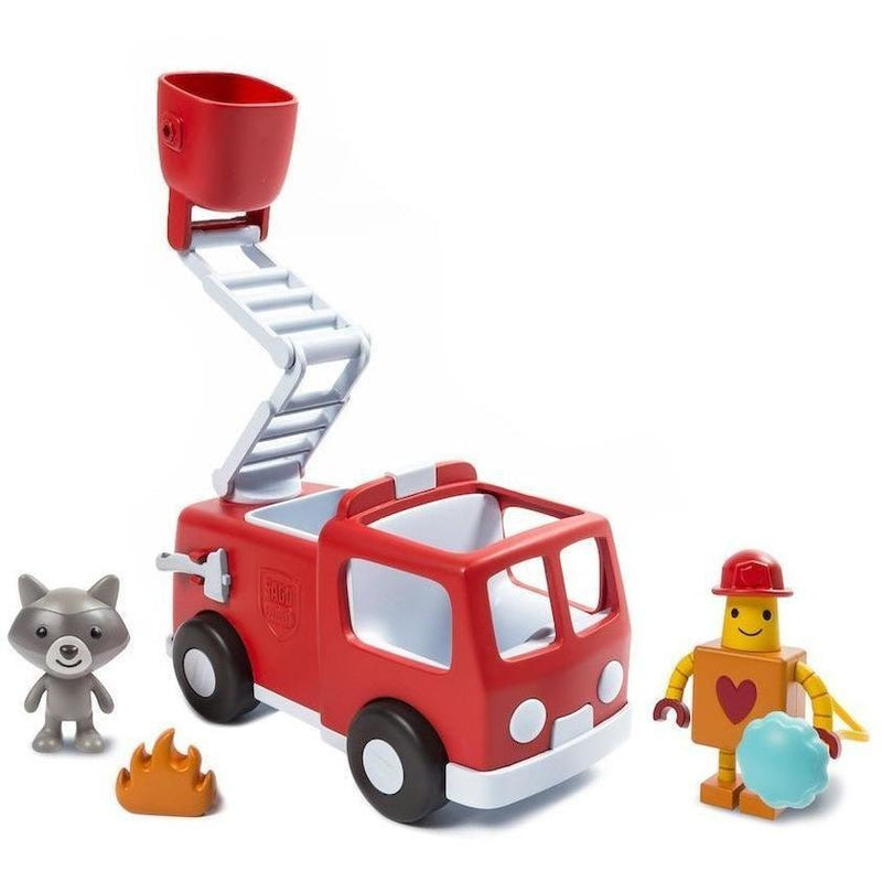 Playscapes - Sago Mini Vehicle Playset: Hugbot & Kiki's Fire Truck
