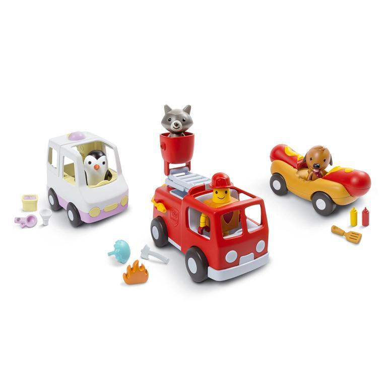 Sago Mini Vehicle Playset: Road Trip Collection