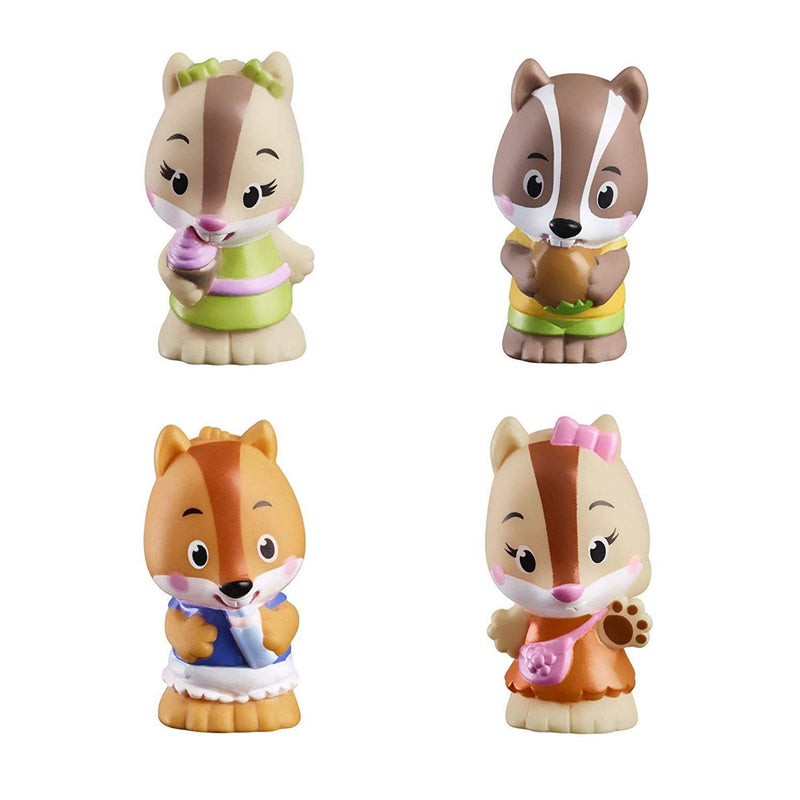 Playscapes - Timber Tots Nutnut Family Set Of 4