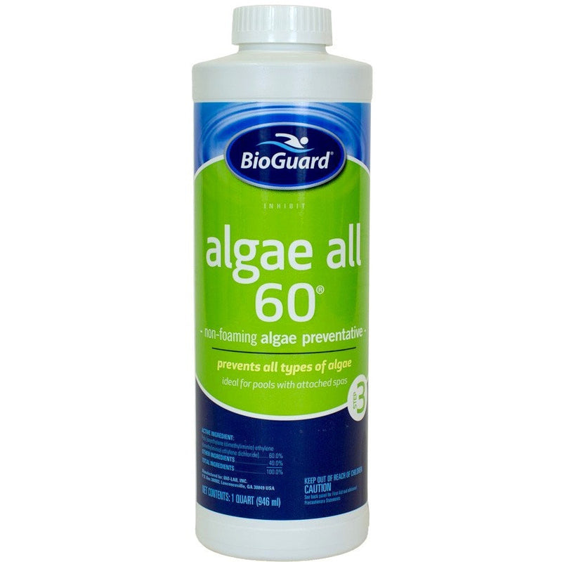 BioGuard Algae All 60 (1 qt)- - Anglo Dutch Pools & Toys