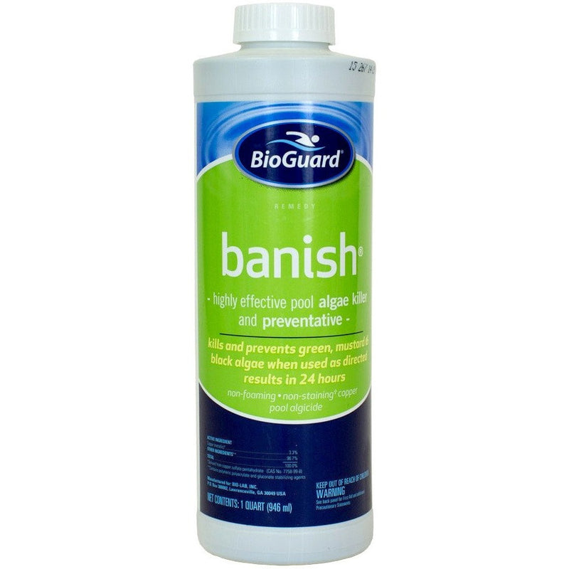 BioGuard Banish (1 qt)- - Anglo Dutch Pools & Toys