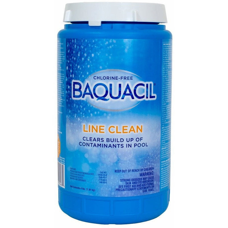 Pool Chlorine Alternatives - Baquacil Line Clean (4 Lb)