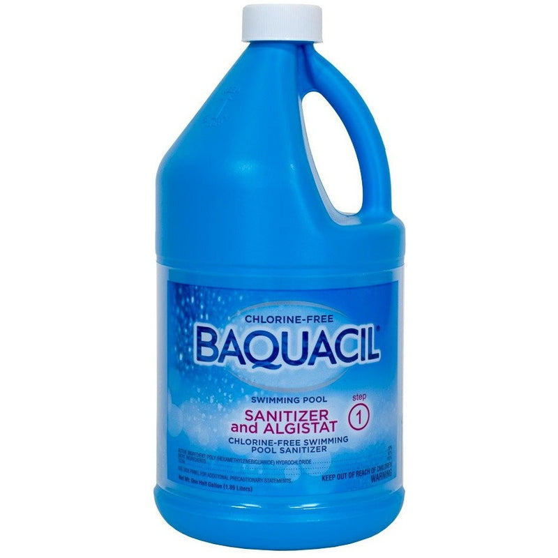 Pool Chlorine Alternatives - Baquacil Sanitizer & Algistat (.5 Gal)