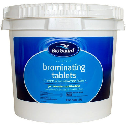 BioGuard Brominating Tablets (25 lb)- - Anglo Dutch Pools & Toys