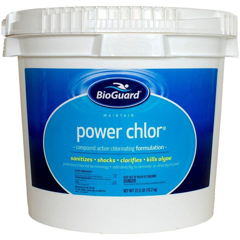 BioGuard Power Chlor (22.5 lb)- - Anglo Dutch Pools & Toys