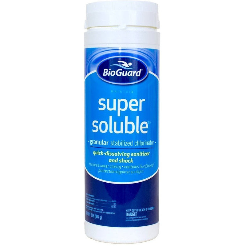 BioGuard Super Soluble- 2 lb- Anglo Dutch Pools & Toys  - 1