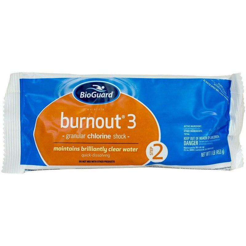 BioGuard BurnOut 3 (1 lb)- Single (1 lb) Bag- Anglo Dutch Pools & Toys
